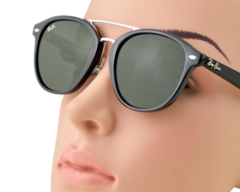 36ab39506b Ray-Ban RB2183 901 71 Black Frame Green Classic Lenses Unisex Sunglasses  53mm