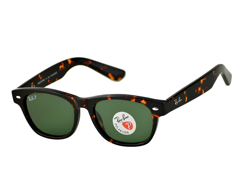 627f4391f2a Ray-Ban RB2132 New Wayfarer 902 58 Tortoise Frame  Green Classic G-15  Lenses Polarized Unisex Sunglasses 52mm