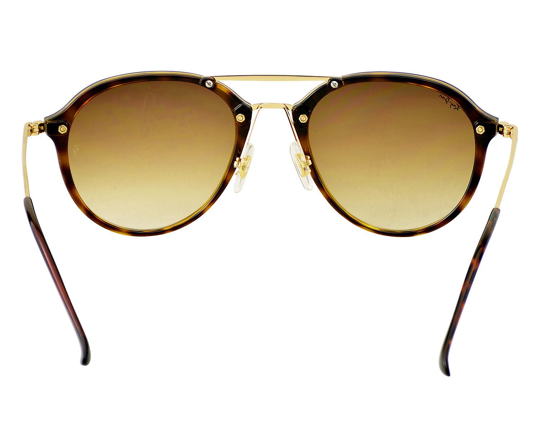 08a55bc697c7e Ray-Ban RB4292N Blaze Double Bridge 710 13 Tortoise Gold Frame Brown  Gradient Lenses Unisex Sunglasses 62mm