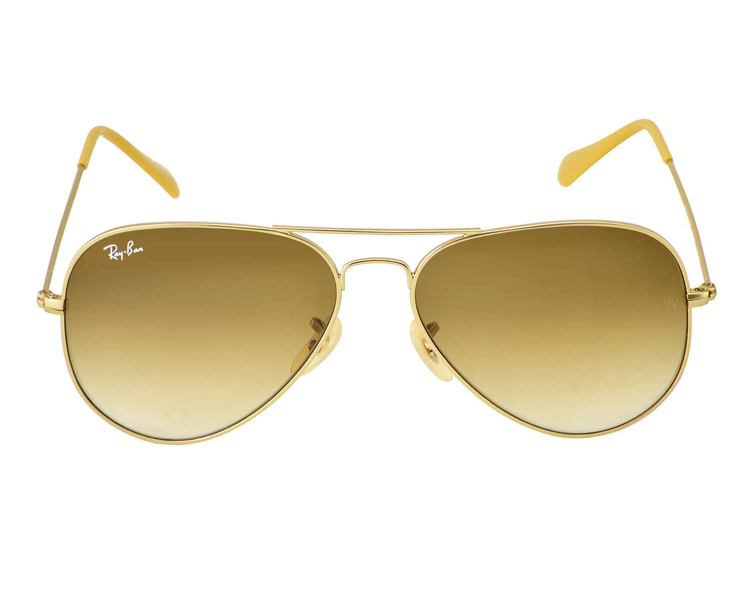 4ec870bf29 Ray-Ban RB3025 Aviator Gradient 112 85 Gold Frame Brown Gradient Lenses  Unisex Sunglasses 58mm