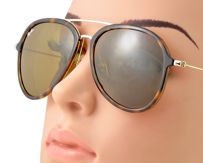 9e393dc71cb Ray-Ban RB4298 710 51 Tortoise Gold Frame Light Brown Gradient Lenses  Unisex Sunglasses 57mm
