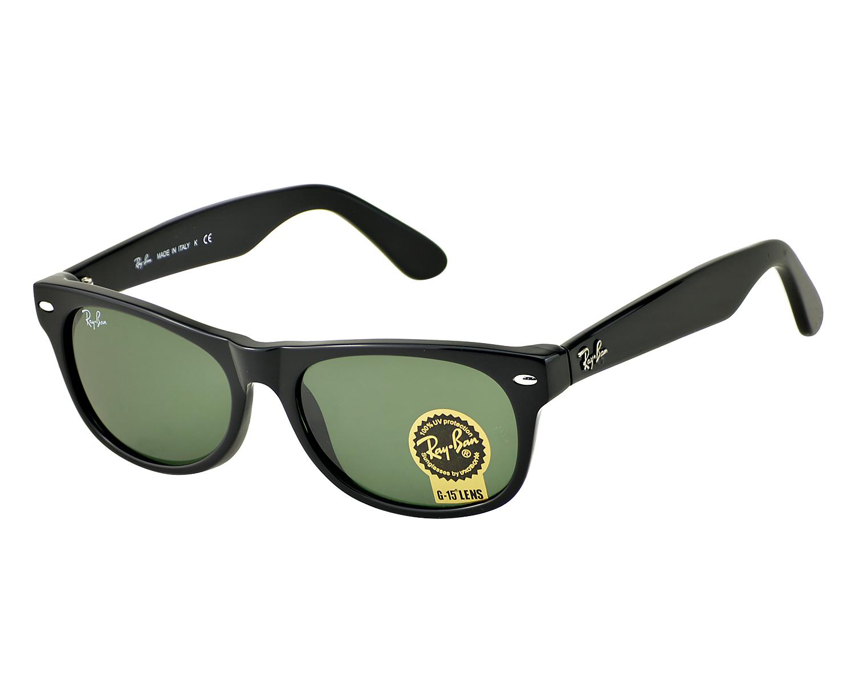 688f836d5 Ray-Ban RB 2132 New Wayfarer Classic 901 Black Frame/ Green Classic G-15  Lens Unisex Sunglasses 52mm