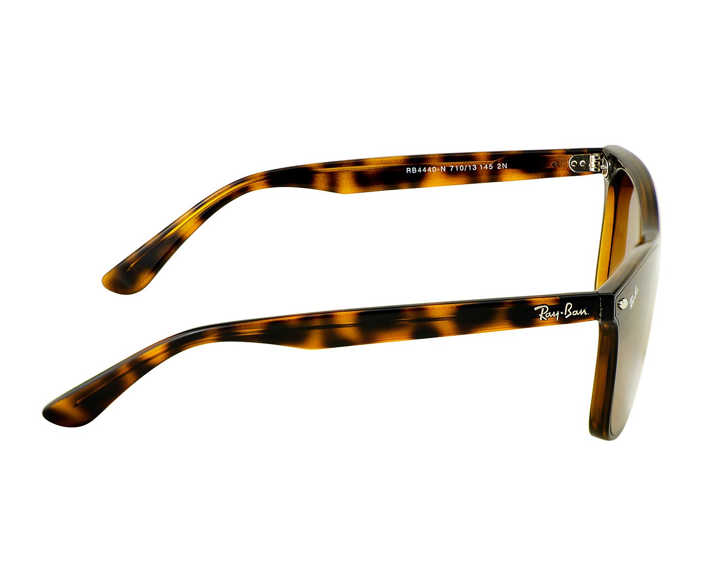 1c3a611eb077ff Ray-Ban RB4440N Blaze Wayfarer 710/13 Tortosie Frame/Brown Gradient Lenses  Unisex Sunglasses 41mm