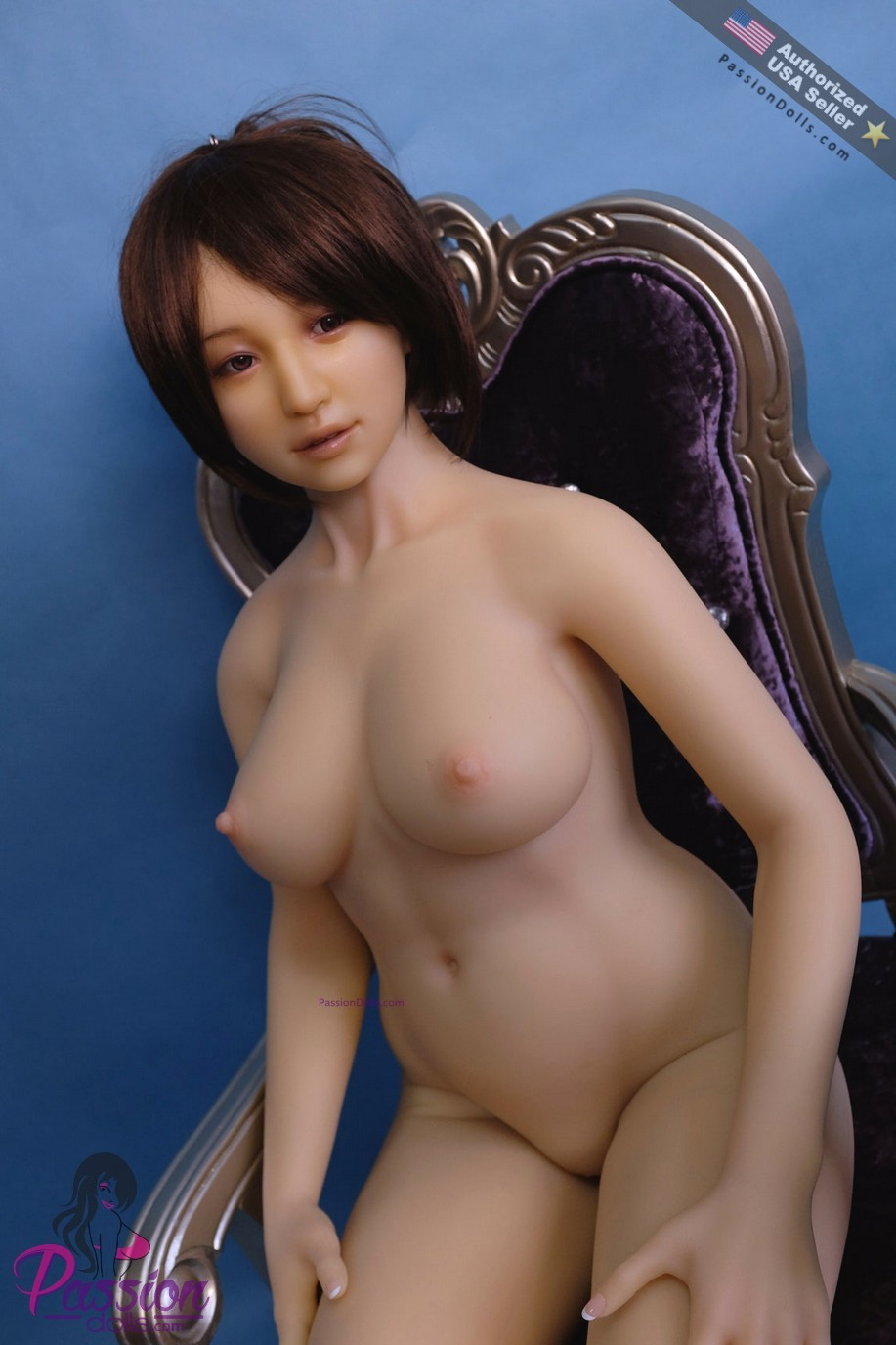 Jinx - Type A - 158Cm Hot Asian Mom Silicone Sex Doll-4687