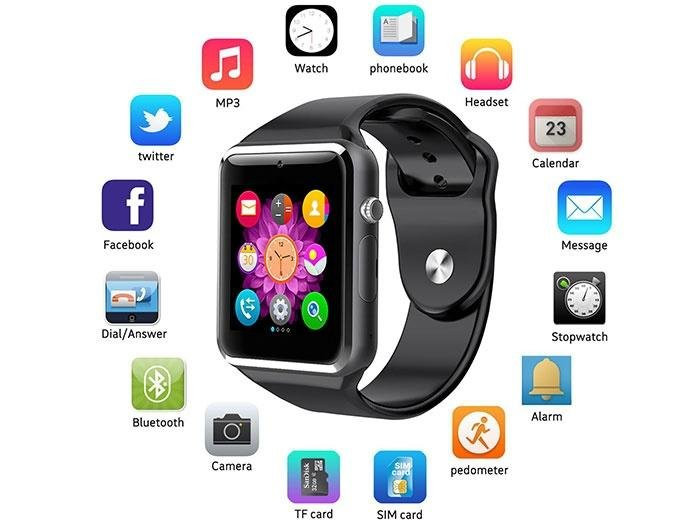 iphone smart watch dr smiths a1 hrgsm bluetooth smart 9761