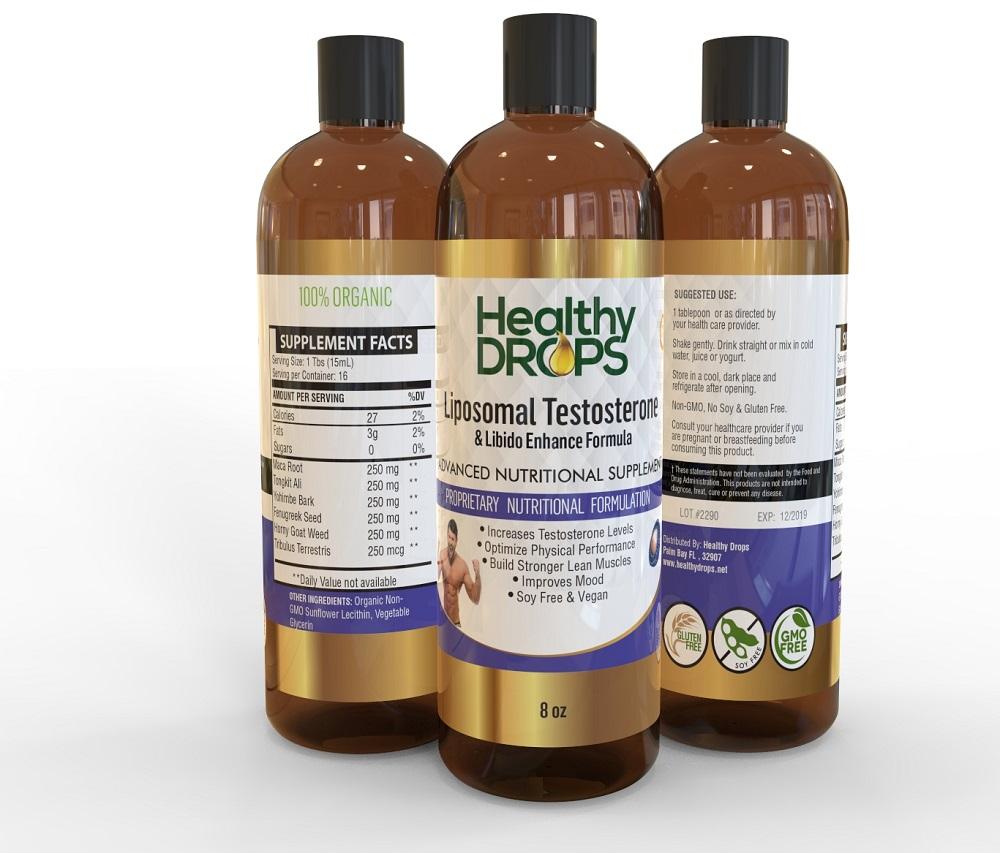 Liposomal Testosterone Libido Booster