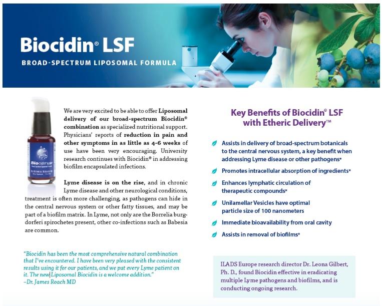 Madison : Liposomal herbs for lyme