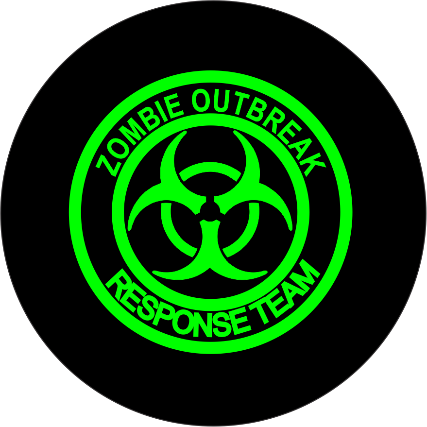 315 Tire Size >> zombie outbreak response team spare tire cover