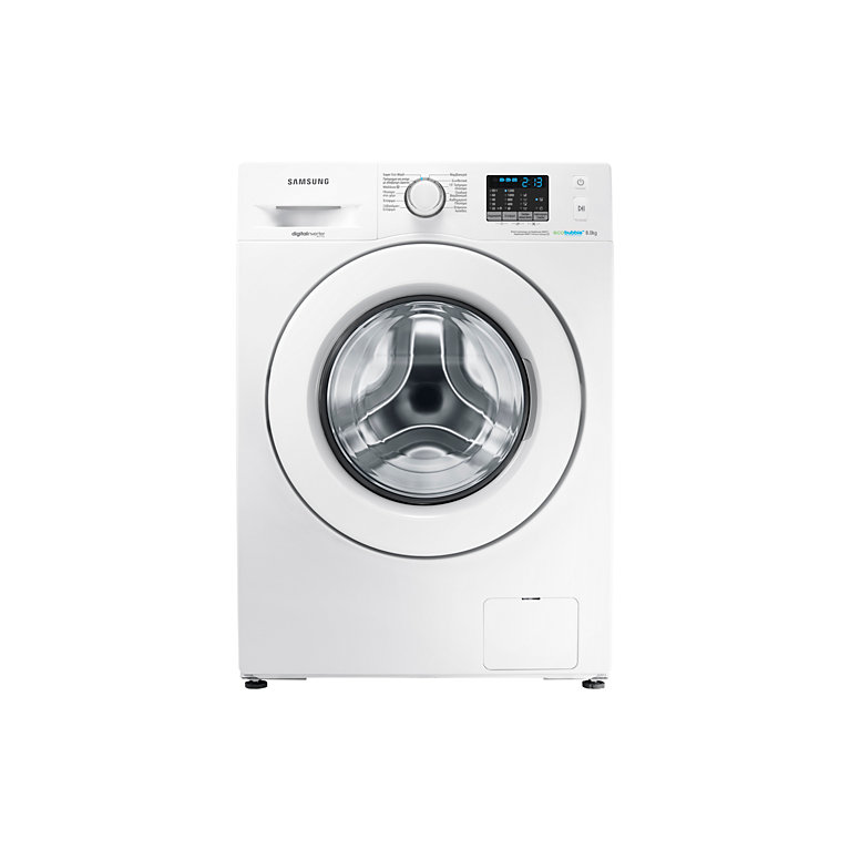 samsung 8kg 1200spin a eco bubble washing machine white. Black Bedroom Furniture Sets. Home Design Ideas
