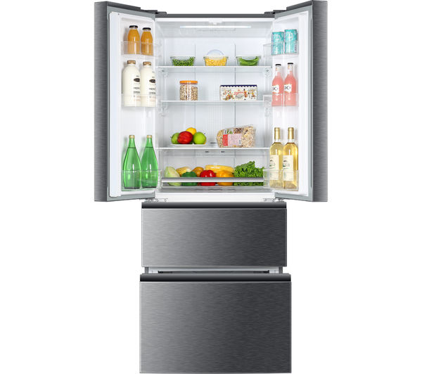 haier french style slim side by side fridge freezer. Black Bedroom Furniture Sets. Home Design Ideas