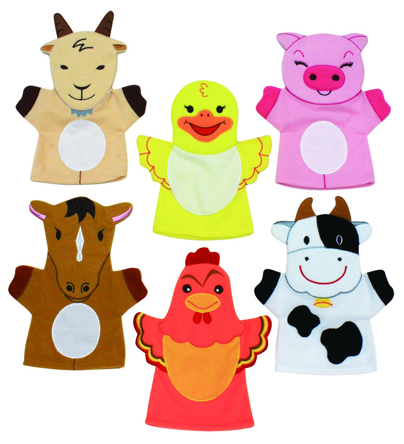Farm Animal Finger Puppets Craft