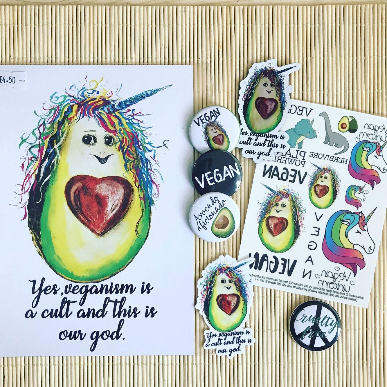 Avocado Lover Vegan Birthday Bundle Gift Ideas