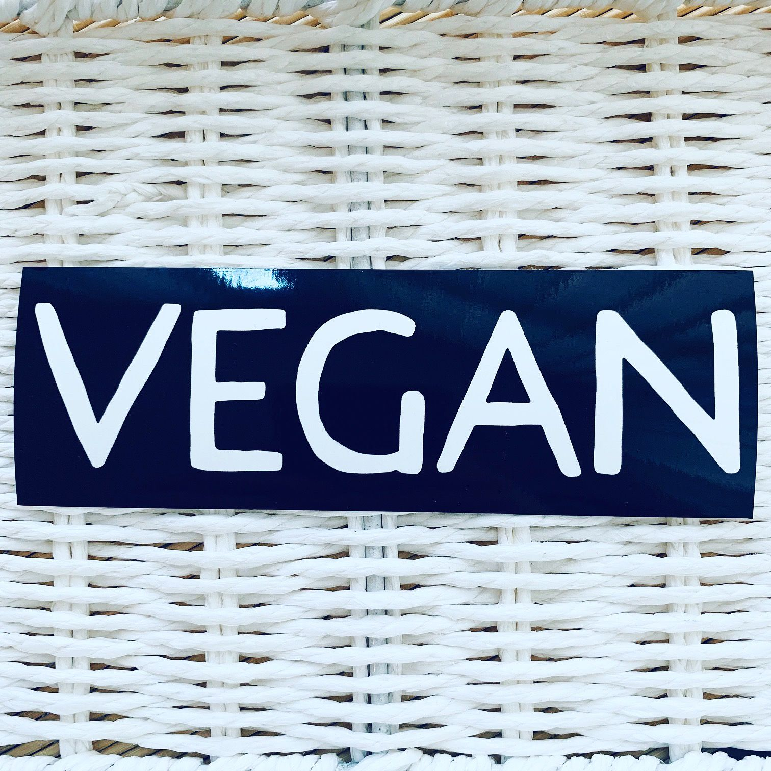 Car window stickers vegan static window cling sticker vegan sticker vegan car sticker vegan gift ideas