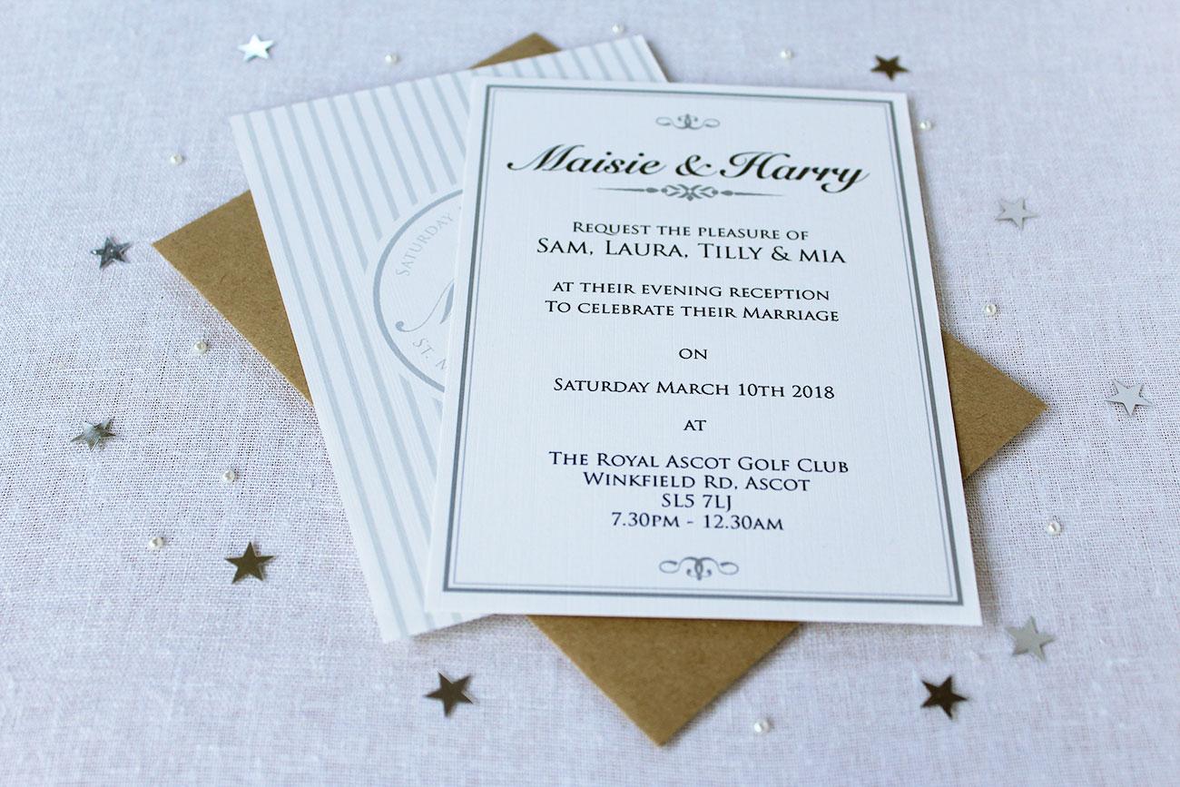 Grace Evening Invitation