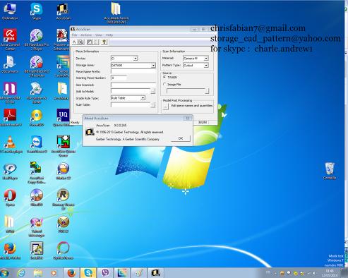 Gerber AccuMark v9 No error 115B ,No error create piece Full Pack Supports  all Windows 32+64 Bits Lifetime