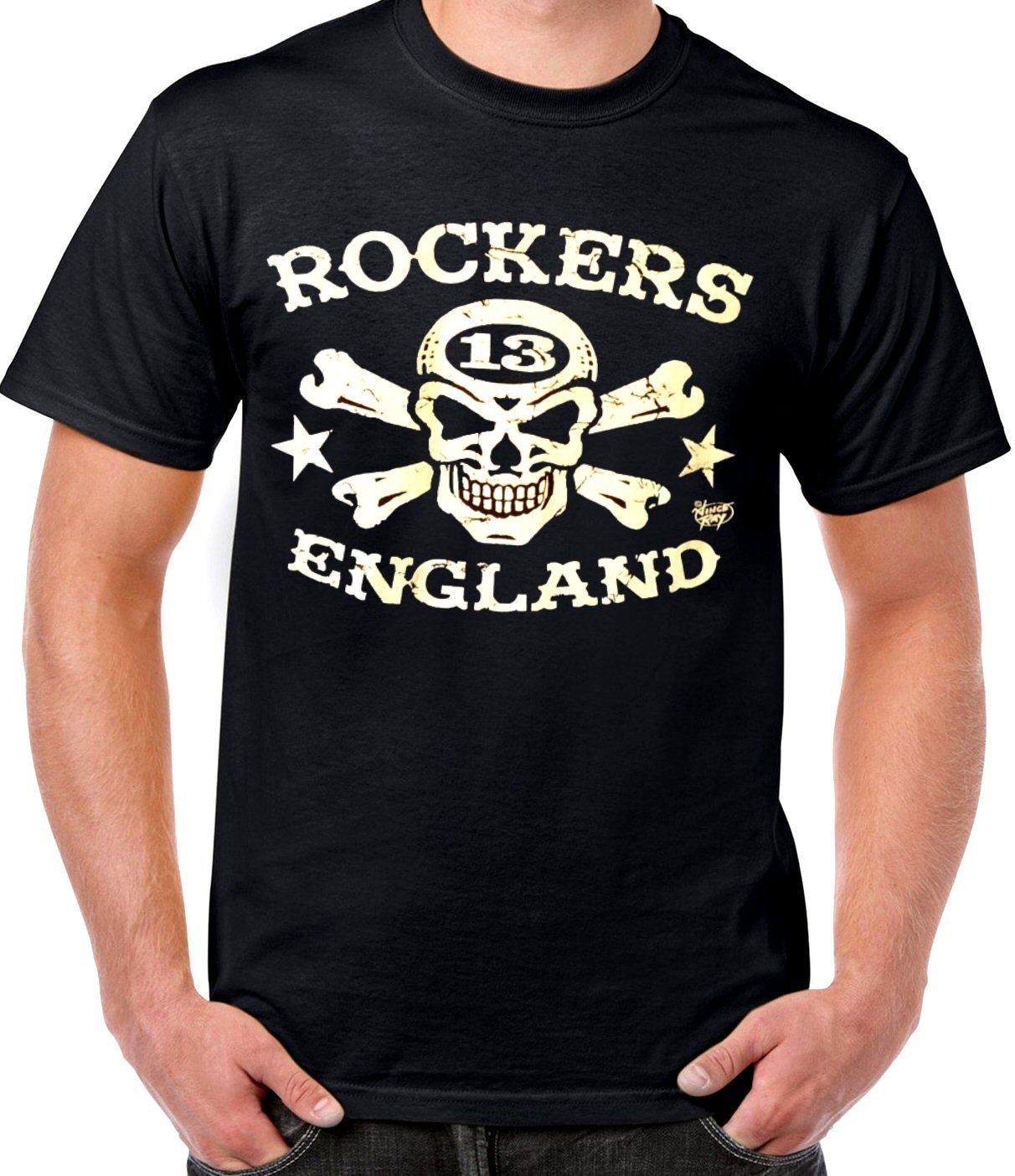 6b0d86b321c T-Shirt. Rockers England