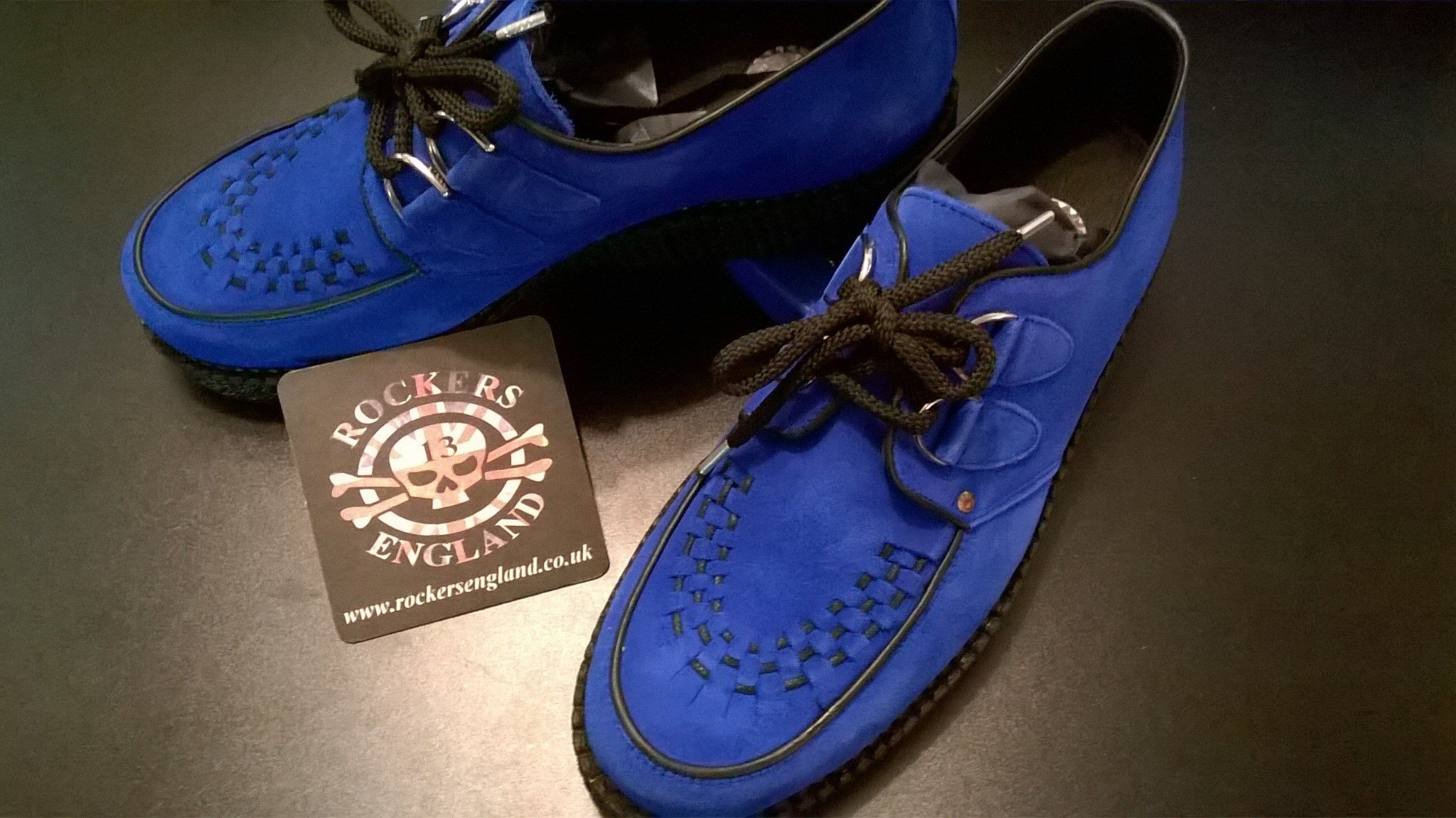 11c94f54c3cd2 Suede Creepers Blue Sole Single Suede Suede Blue Creepers Single Blue  Single Sole qRZOfa8Pw