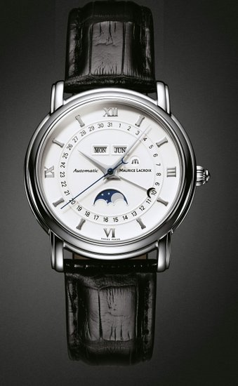 Maurice Lacroix Masterpiece Phase De Lune Stainless Steel