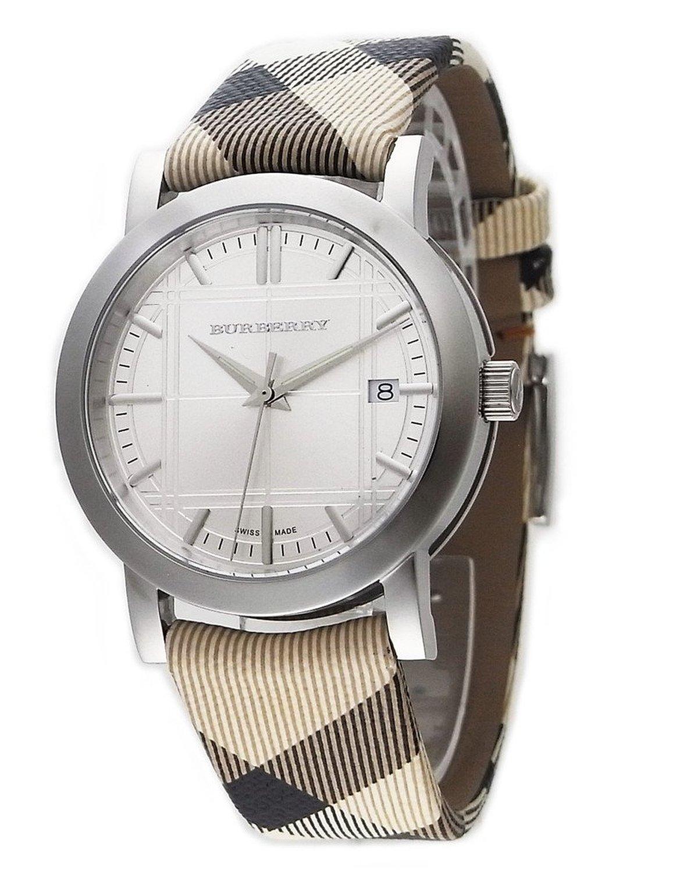 2437c6e8345 Burberry BU1390 City Nova Check Mens Watch