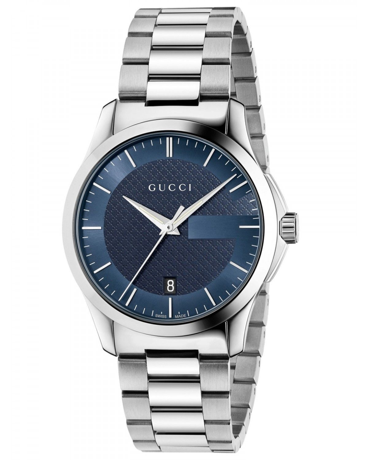 41b4384db14 Gucci Men s YA126440  G-Timeless  Stainless steel Watch