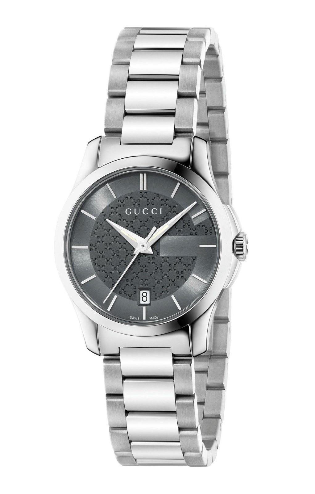 7dc3153856d Gucci YA126522 G-Timeless Swiss Quartz Stainless Steel Ladies Watch
