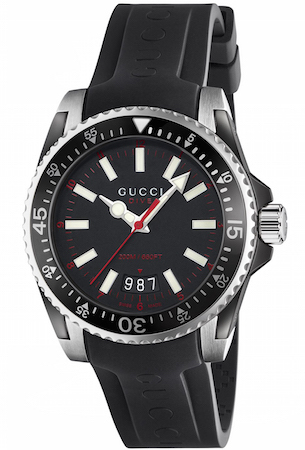 6f0160f9864 Gucci Dive Watch Men s
