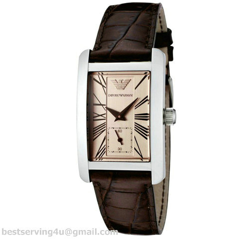 2d8fd5b50f3d Emporio Armani AR0155 - Ladies Classic Leather Strap Designer Watch