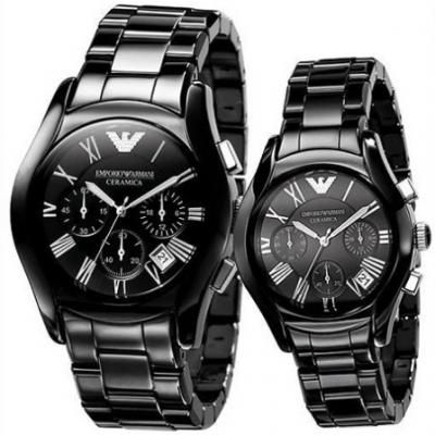 Emporio Armani His Amp Hers Ar1400 And Ar1401 Watches