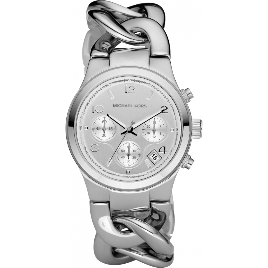 a18e9c18cc15 Michael Kors Chronograph Chain Bracelet Ladies Watch MK3149