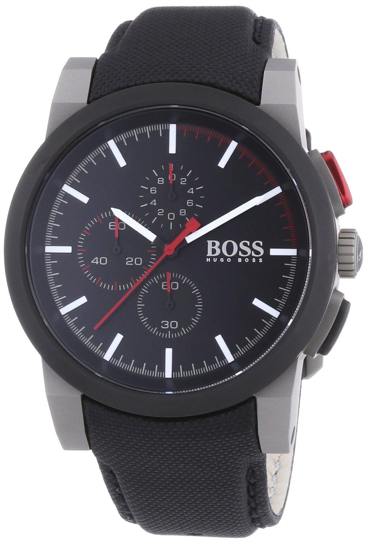 50f10c6b17df Men's Black Hugo Boss Chronograph Watch 1512979