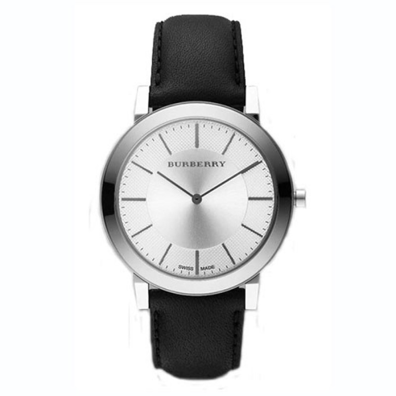 Burberry BU2350 Heritage Classic Mens Leather Strap Watch 683aded047c