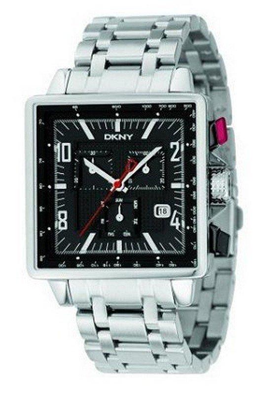 e217138e119 DKNY NY1350 - Mens Chronograph Stainless Steel Bracelet Watch