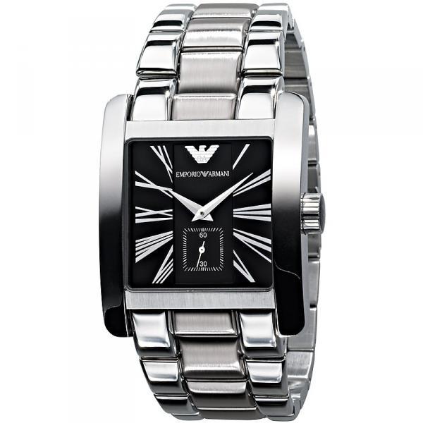 a1de36bc669 Emporio Armani AR0181 - Mens Classic Stainless Steel Designer Watch