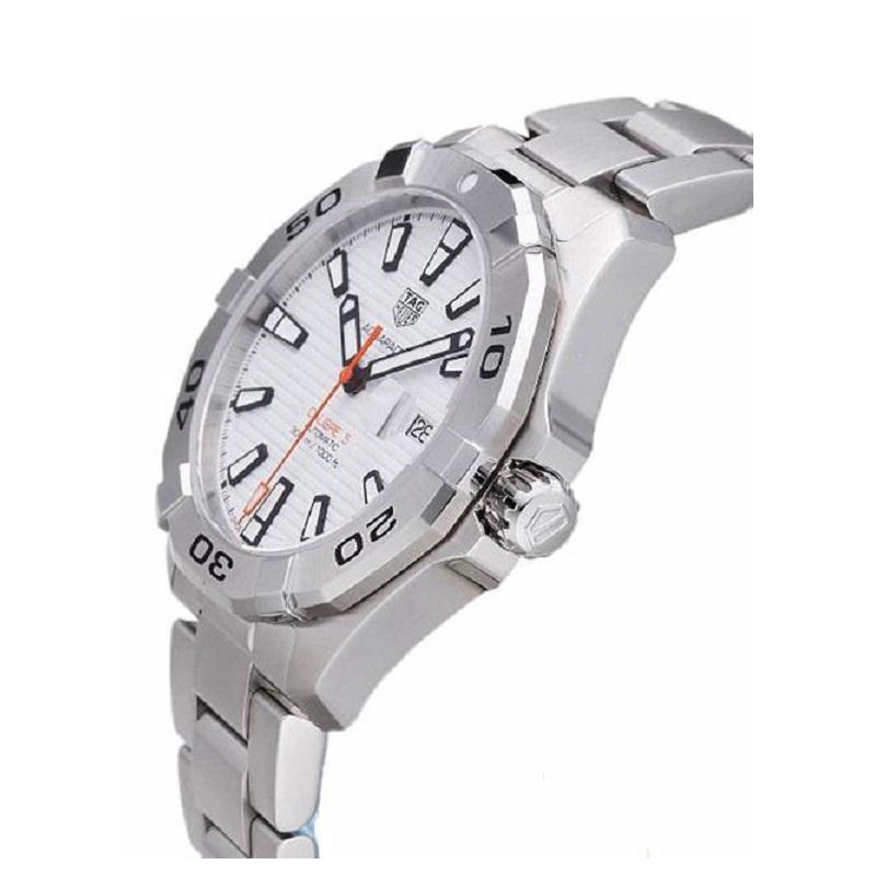 95d39bd2bdf4 Tag Heuer WAY2013.BA0927 Aquaracer White Dial Men s Watch. WAY2013.BA0927