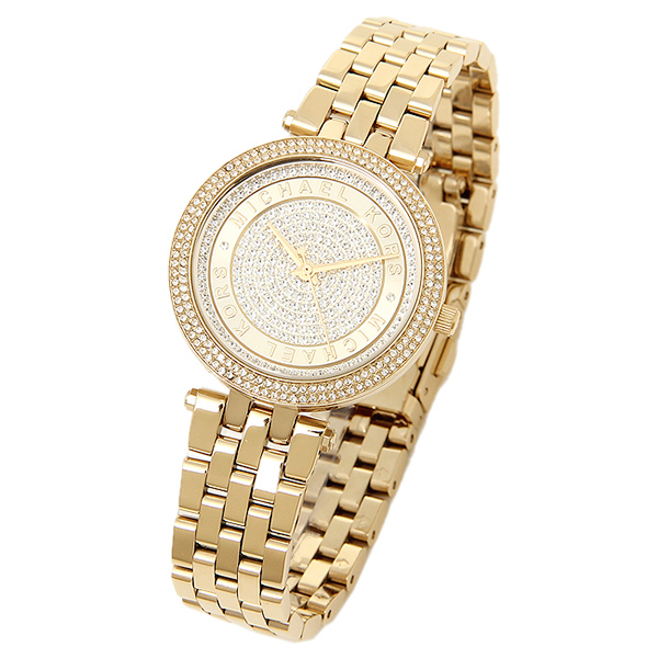 511c75087706 Michael Kors MK3445 Mini Darci Gold Crystal Pave Ladies Watch. MK3445