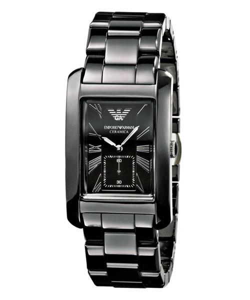 Emporio Armani Ar1407 Women S Ceramica Black Dial Black Watch