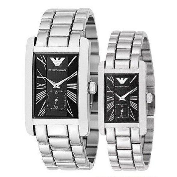 Emporio Armani Ar0156 And Ar0157 Armani His And Hers Watches