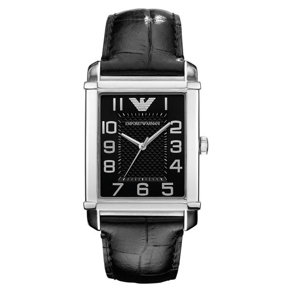 Emporio Armani AR0363 Women s Classic Black Dial Black Strap Watch ad2501b90
