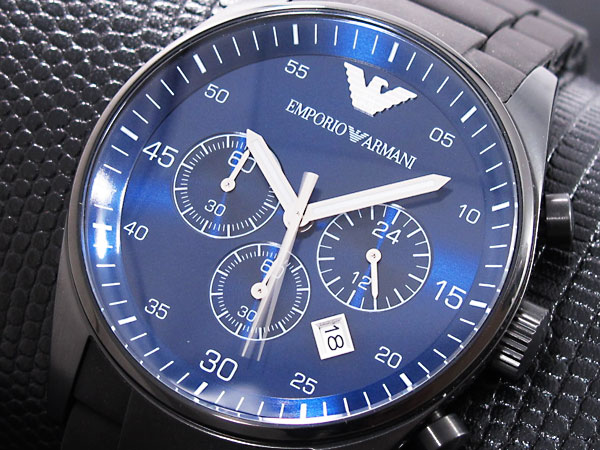 9fc23f5943 Mens White Watches: Armani Mens Watch Blue Face