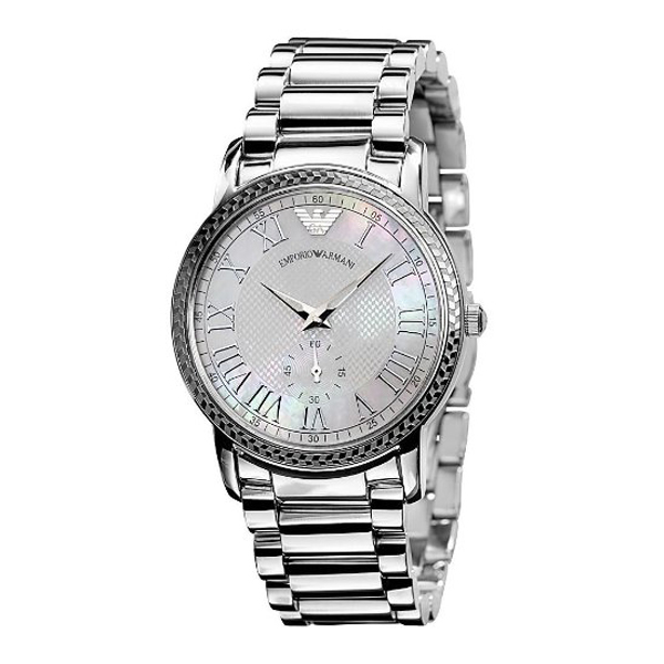 24ea0ba69f7dd3 Emporio Armani AR0469 - Ladies Stainless Steel Designer Watch