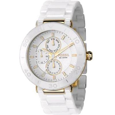 Fossil Ce1004 Ladies White Ceramic Watch