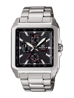 Casio Collection Edifice Square Face Dials Series Gent Ef 333d 1av