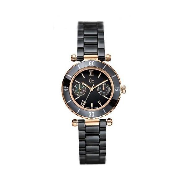 2ffaa9658 Guess GC Ladies Diver Chic Black Ceramic Watch I42004L2