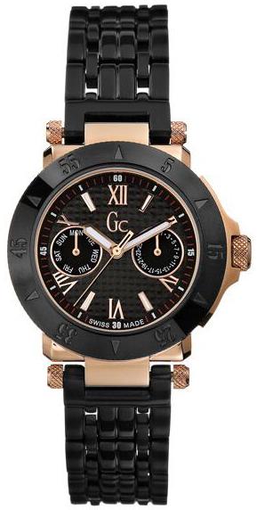 Guess GC Ladies Rose Gold Bracelet Watch - I45502L1- photo #50
