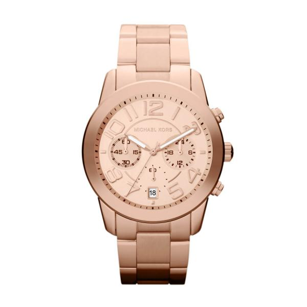 901e995ef7fe Michael Kors Watches MK5727 Ladies Chronograph Rose Gold Watch