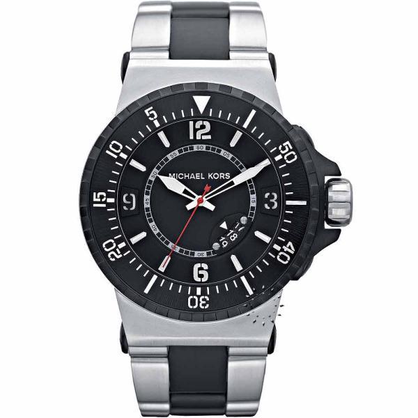7acb7f6fb80b Michael Kors Men s Large Silicone Strap Watch MK7059