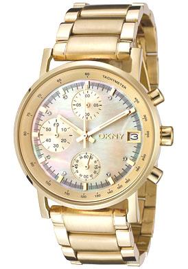32bf0c2606c DKNY NY4332 Ladies Gold Chronograph Watch