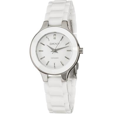 5b3faea73c7 DKNY NY4886 Women s White Ceramic Bracelet Watch
