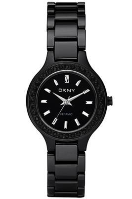 Dkny Watches Ny8142 Ladies All Black Ceramic Watch