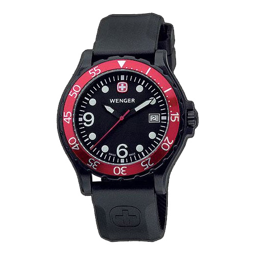 Wenger Swiss Military Ranger Watch Red 70903w